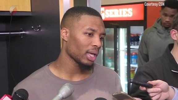 Lillard on Preseason: 'I Think It's Coming Along'