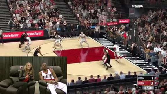 Video: Maurice Harkless Challenges Brooke Olzendam in NBA 2K17