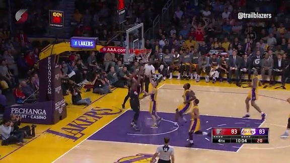 Preseason Highlights: Blazers 109, Lakers 106 (OT)