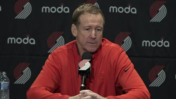 Terry Stotts Media Day Press Conference
