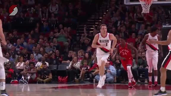 Connaughton Zips Through Traffic For A Floater