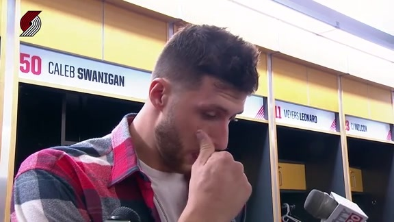 Nurkic: 'I Had Good Looks, They Just Didn't Go In'