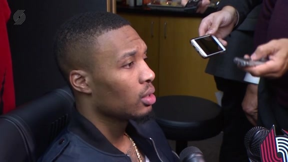 Lillard: 'The Biggest Difference Was Bazz'