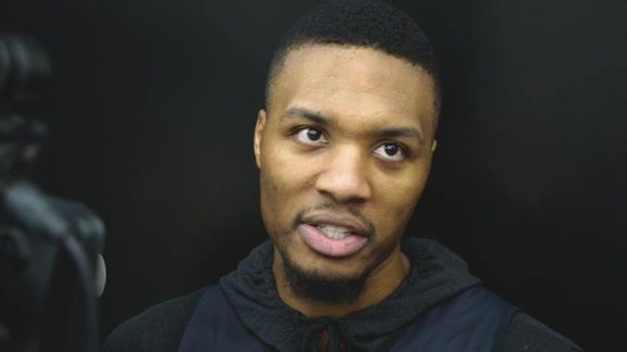 Lillard: '[Skating] Is Fun For Me, I Really Enjoy It'