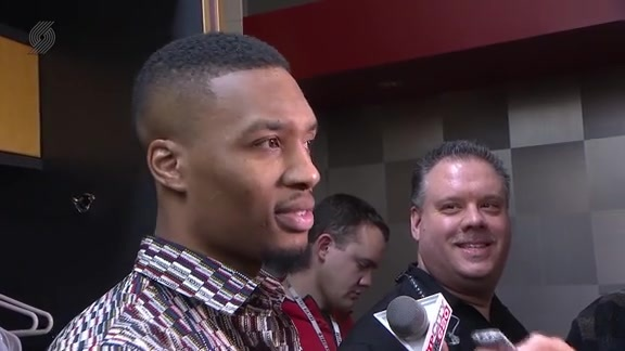 Lillard: 'I'm Definitely Not Into Moral Victories'
