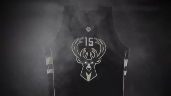 The Bucks Unveil Their Alternate Uniforms and Court