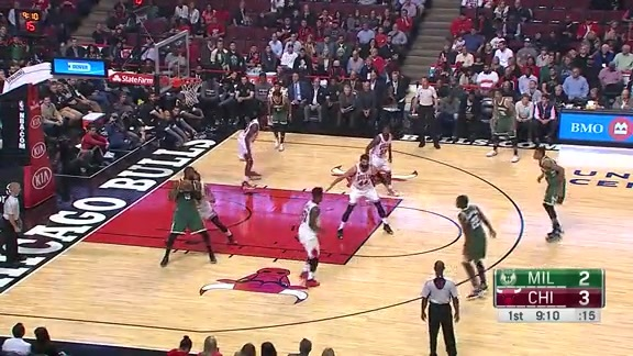 Greg Monroe Puts Noah in the Spin Cycle