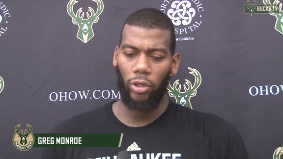 Greg Monroe on Fitting Right In