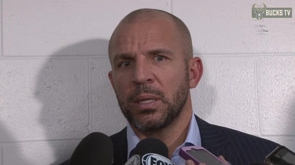Coach Kidd Postgame: Bucks at Pacers - 11/21/15