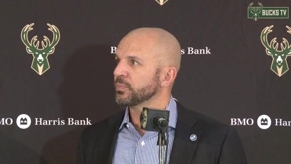 Coach Kidd Postgame: Bucks vs Kings - 11/25/15