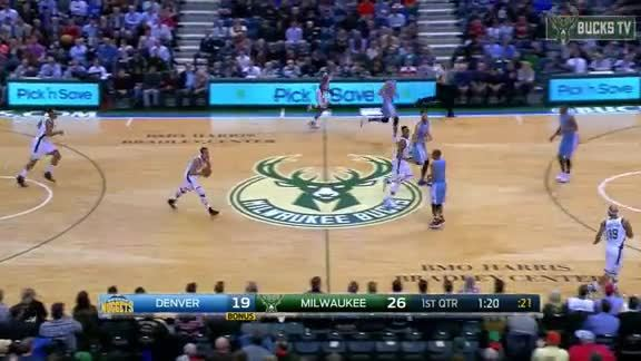 There's No Getting By the Long Arms of John Henson