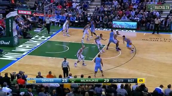 Henson Blocks It The Saves It From Going Out of Bounds