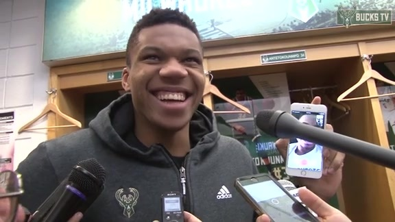 Locker Room - 01/26/15: Giannis Antetokounmpo (and His Brother)
