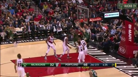 Miles Dunks on His Brother