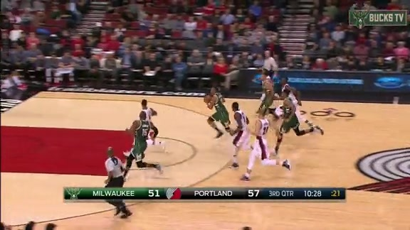 Jabari Parker Takes It All the Way for the Slam