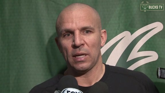 Coach Kidd Before Bucks Visit Jazz