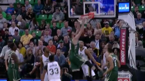 Plumlee Slams It Down