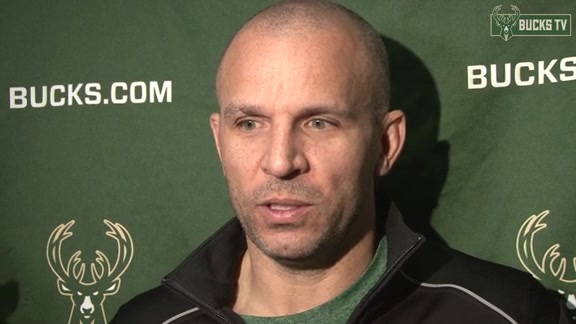 Coach Kidd Before Bucks Host Celtics