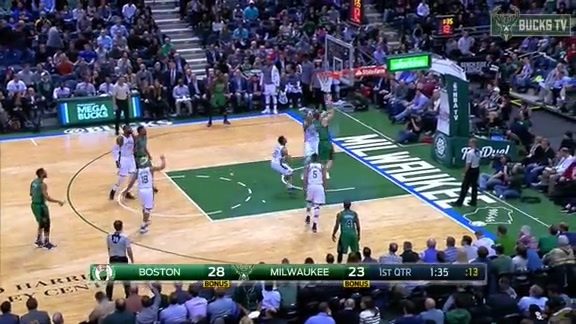 Giannis With the Wicked Block