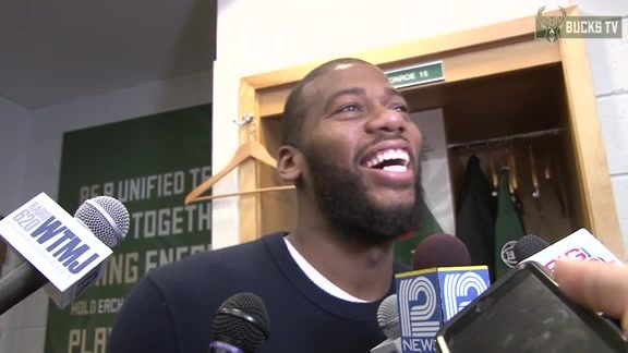 Locker Room - 02/09/16: Greg Monroe