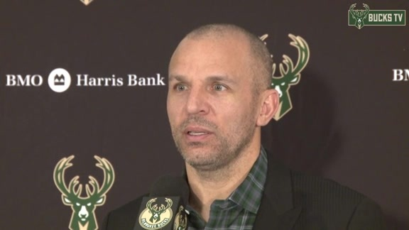 Coach Kidd Postgame: Bucks vs Wizards - 02/11/16