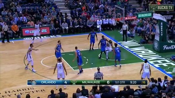 Giannis to Moose for the Hoop and the Harm