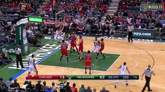Giannis Lobs It To Plumlord
