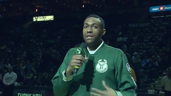 Jabari Parker Thanks Bucks Fans