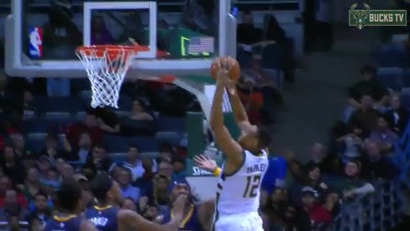 Jabari Reaches for the Jam