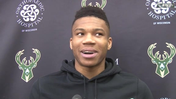 Giannis Reflects on His Season