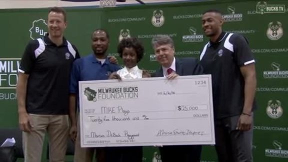 Milwaukee Bucks Foundation Launches with $75,000 in Grants
