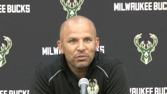 Jason Kidd Contract Extension Press Conference