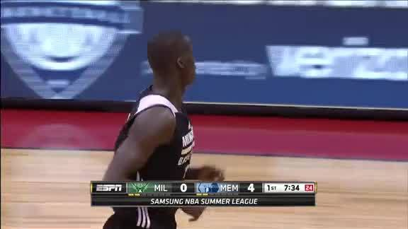Thon Maker Jams To Open Up the Scoring
