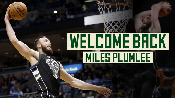 Welcome Back Miles Plumlee