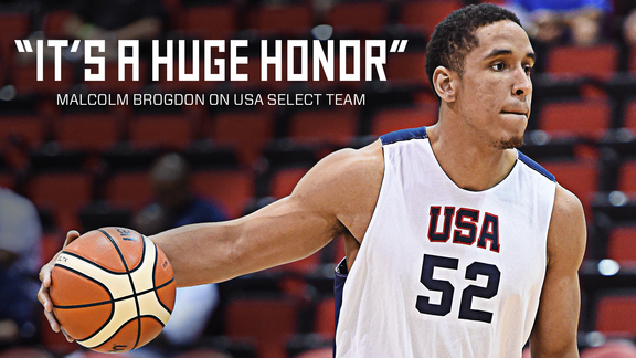 USA Basketball Gives Malcolm Brogdon Head Start
