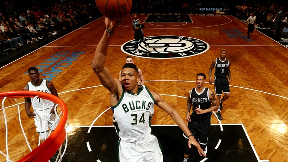 Giannis Antetokounmpo Top 10 Plays of the 2015-2016 Season