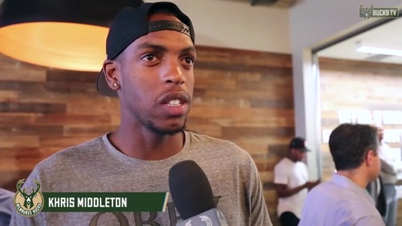 Khris Middleton: I Feel Like A Proud Brother