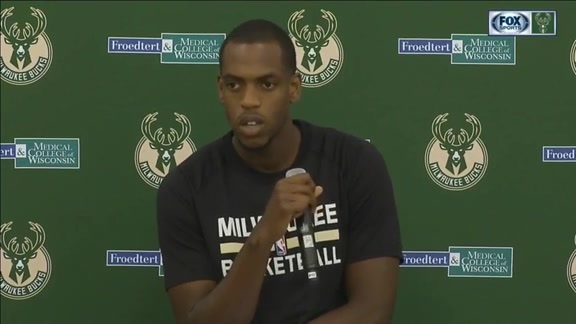 Media Day 2016: Khris Middleton