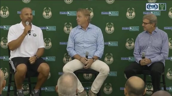 Media Day 2016: Jason Kidd, Wes Edens and John Hammond