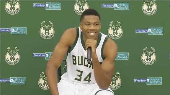 Media Day 2016: Giannis Antetokounmpo
