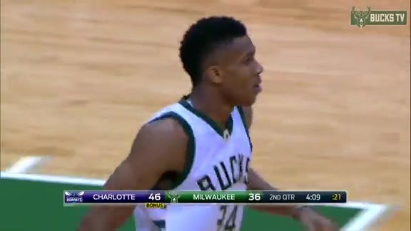 Highlights: Giannis 31 Points vs. Hornets (10/26/16)
