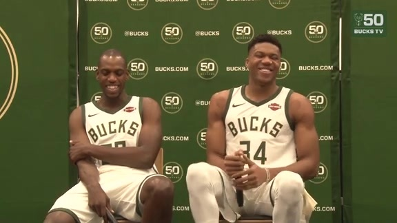 Giannis Antetokounmpo's 2017 Media Day Joke