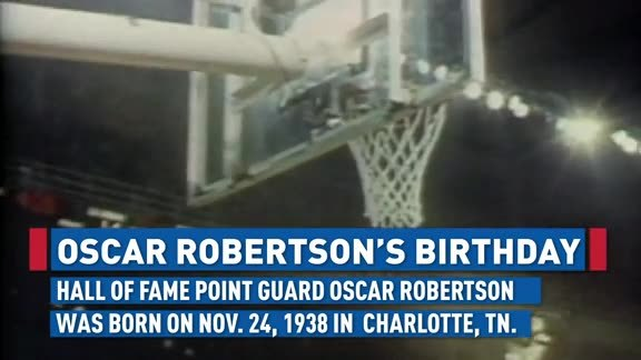 Happy 80th Birthday Oscar Robertson