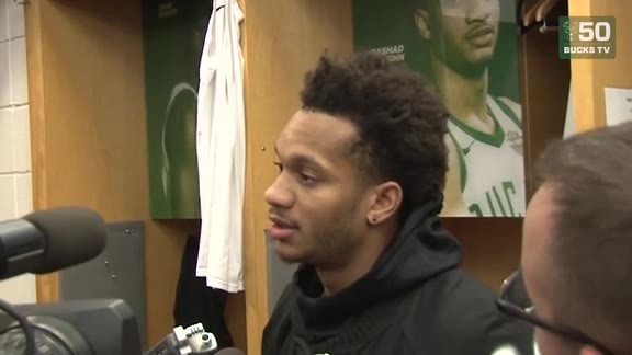 Rashad Vaughn Postgame Media Availability | 12.06.17