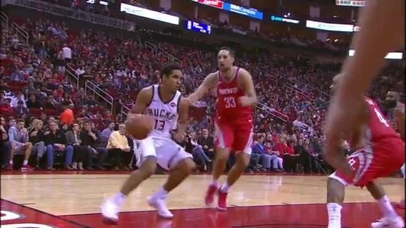 Highlights: Malcolm Brogdon 20 points vs. Rockets | 12.16.17