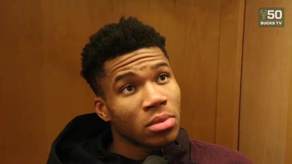Giannis Antetokounmpo Postgame Interview | 12.16.17