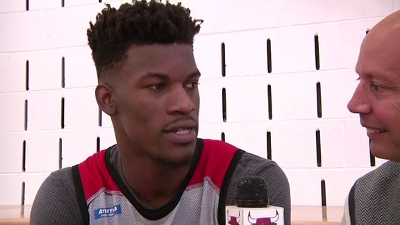 Jimmy Butler - Training Camp Day 1 Interview
