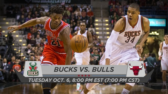 BullsTV Preview: Bulls vs Bucks - 10.6.15