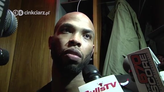 Inside the Locker Room: Taj Gibson 11.16