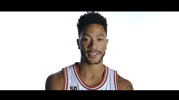 Derrick Rose breaks down a few of his game winning shots